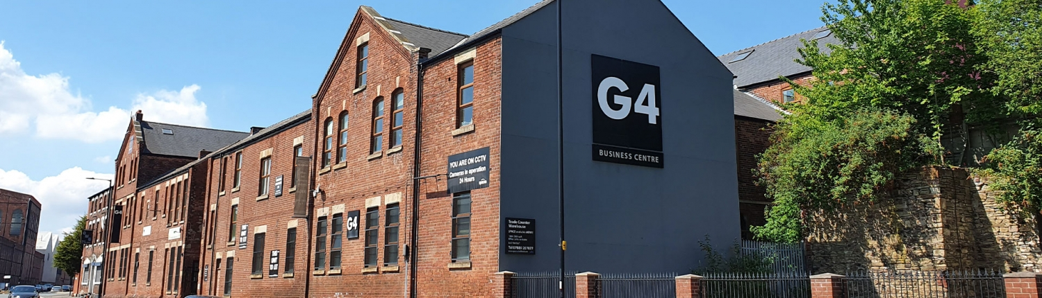 G4 Business Centre from Carlisle St East Sheffield