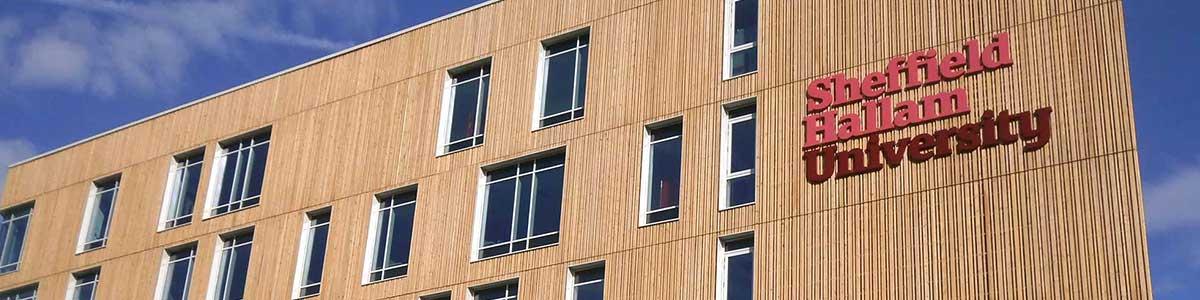 SHU AWRC Building Exterior